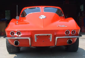 1963 Red Corvette Coupe