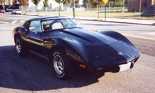 1976 Black Corvette Coupe