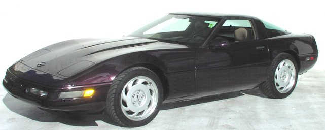 1992 Black Corvette Coupe