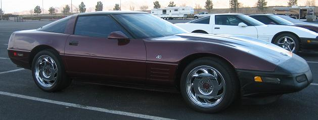 1993 chevy corvette specs
