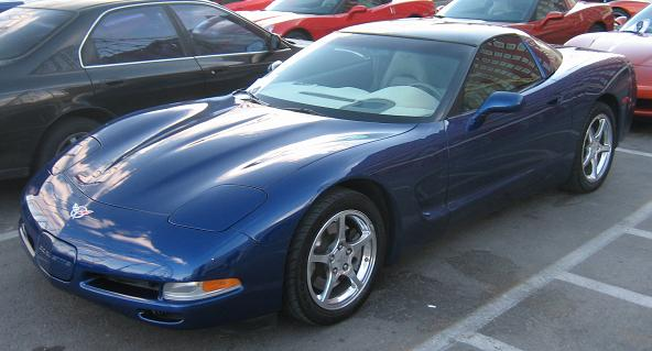 2001 Navy Blue Corvette