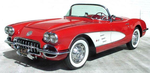 The 1959 Chevrolet Corvette