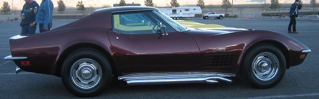 1972 Chevrolet Corvette C3 Production Statistics, Facts