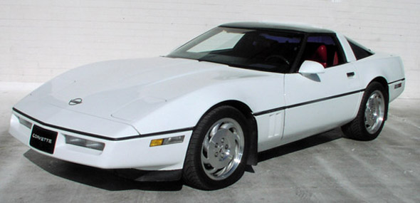 1989 Chevrolet Corvette C4 Production Statistics, Facts
