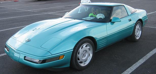 1991 Chevrolet Corvette C4 Production Statistics, Facts