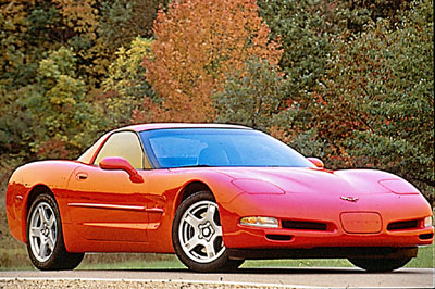 Génération multiple  1997-red-coupe-corvette