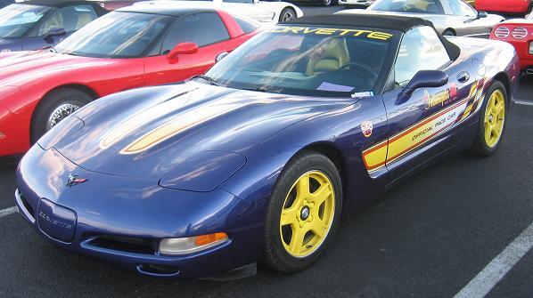 1998 Chevrolet Corvette C5 Production Statistics Facts