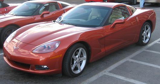 2005 Chevrolet Corvette C6 Production Statistics, Facts